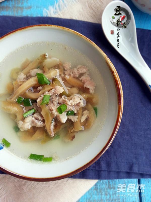榨菜肉丝汤怎么煮