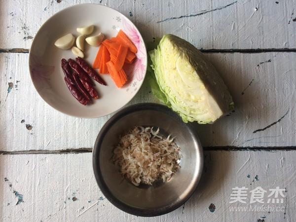 包菜煸虾米的做法大全