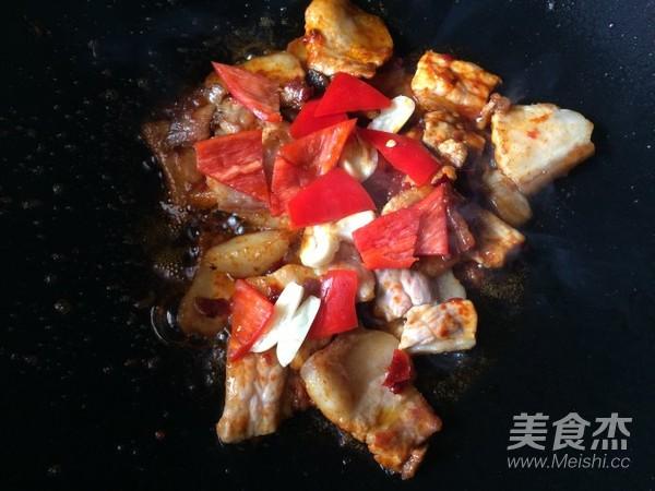 蒜香回锅肉怎么吃