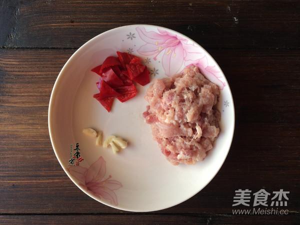 茭白炒肉丝的做法图解