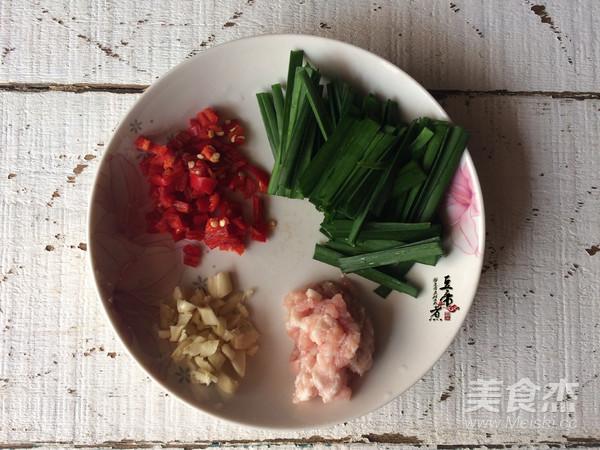 韭菜烧豆腐的做法图解
