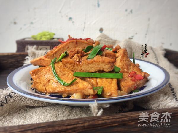 韭菜烧豆腐怎么炒