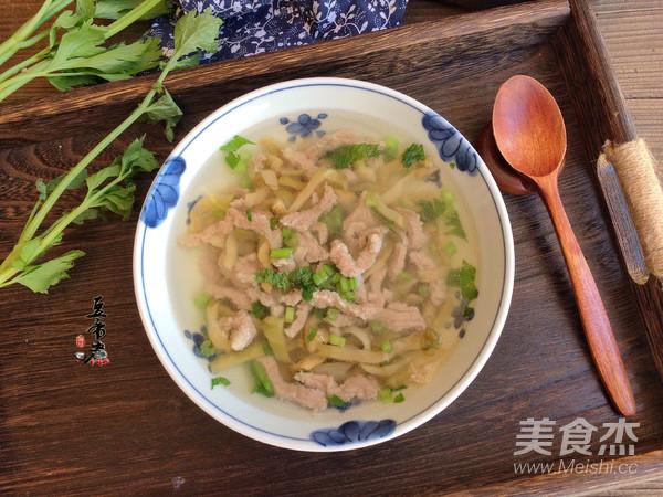 榨菜肉丝汤怎么做