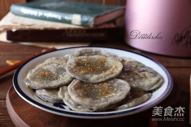 桂花蜜豆浆糍粑怎么煮