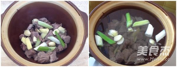牛肉柿子汤的家常做法