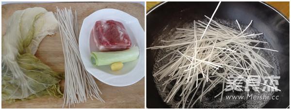 酸菜炖粉条的做法大全