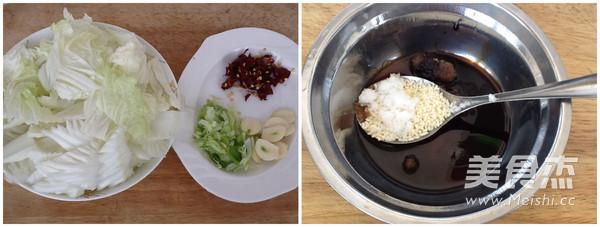 酸辣白菜的简单做法
