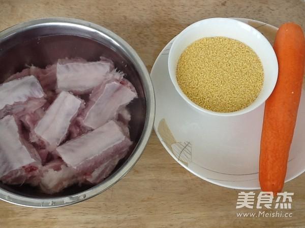 小米蒸排骨的做法大全