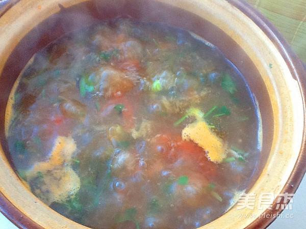 牛肉柿子汤怎么做