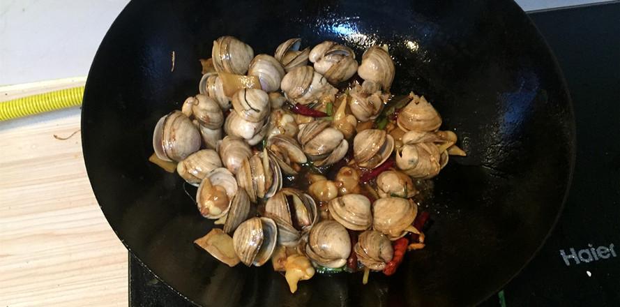 家常炒蛤蜊的简单做法
