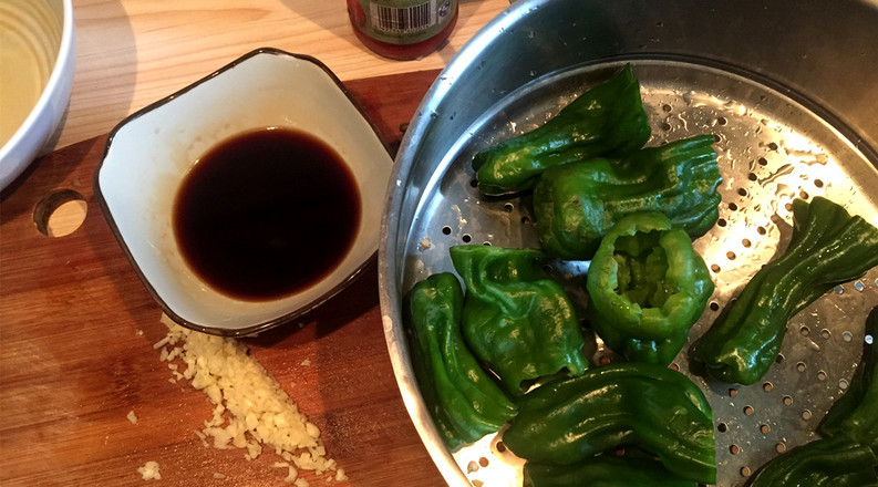 吃辣椒的虎皮青椒的做法大全