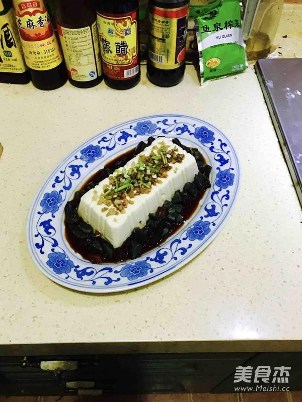 小葱皮蛋豆腐怎么煮