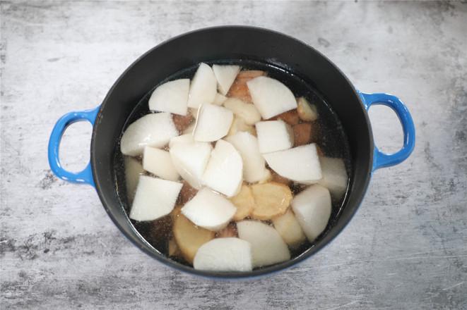 萝卜马蹄羊肉汤的步骤