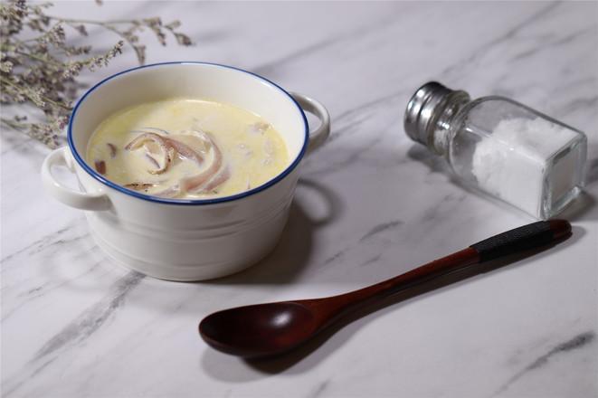 菌菇奶油汤成品图
