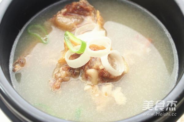 韩式牛尾汤的制作