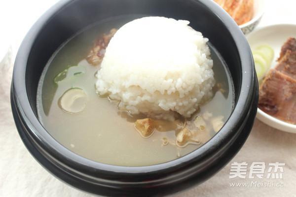 韩式牛尾汤的制作方法
