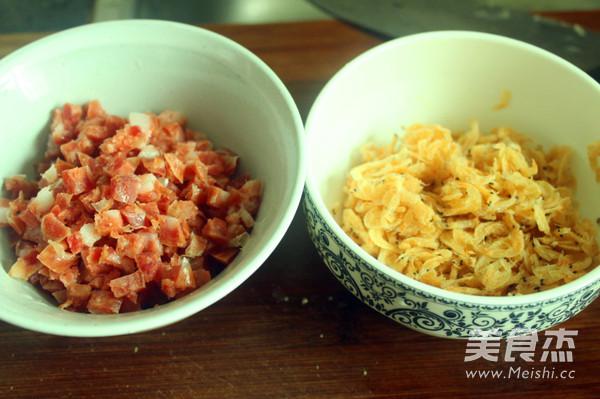 广东腊味萝卜糕的家常做法