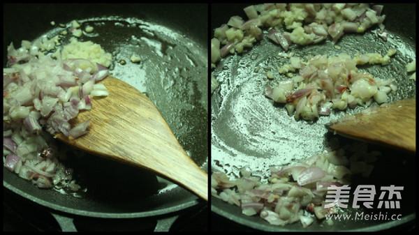 海鲜芦笋烩饭怎么煸