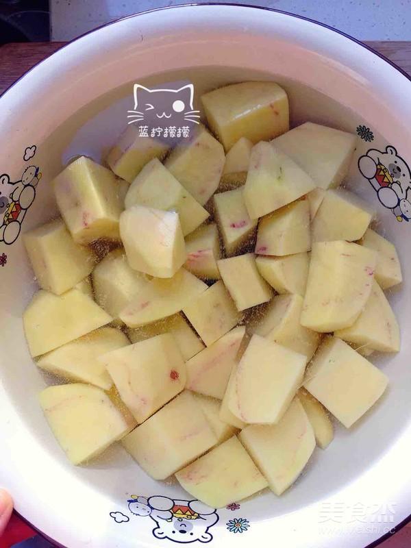 家乡美食~干豆角炖红公鸡的家常做法