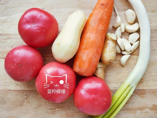 无油西红柿炖牛肉的简单做法