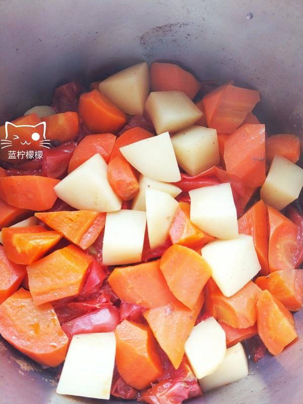 无油西红柿炖牛肉怎样煮