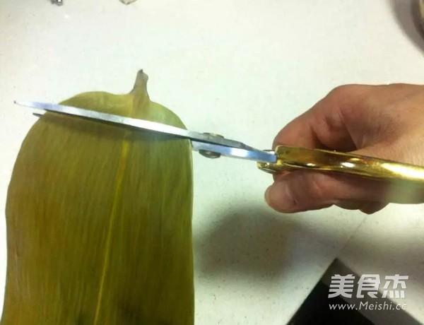 红枣豇豆肉粽怎么吃