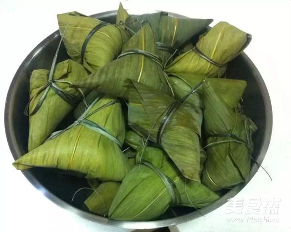 红枣豇豆肉粽的制作方法