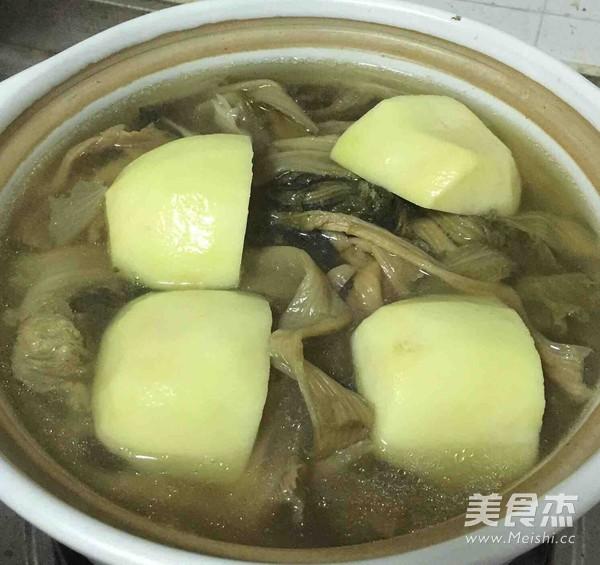 脊骨土豆汤的简单做法