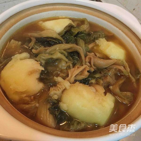脊骨土豆汤怎么炒