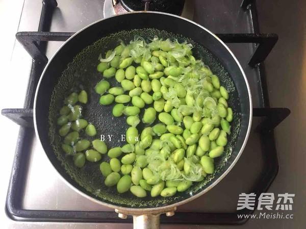 毛豆炒肉末的家常做法