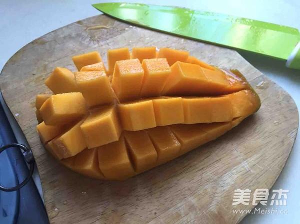 椰浆芒果西米露怎么做