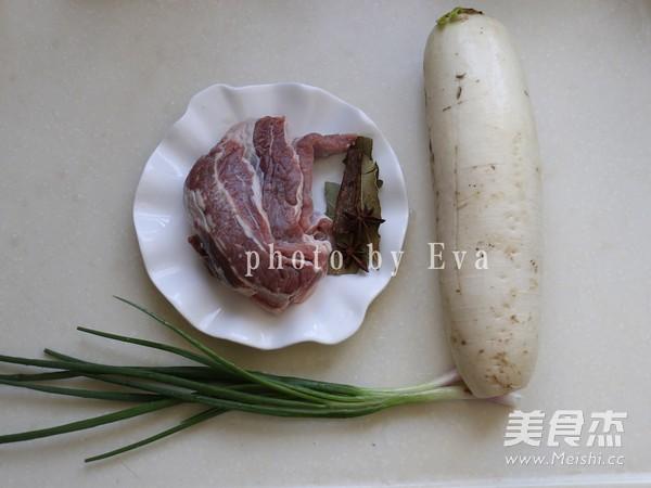无肉不欢-白萝卜炖牛腩的做法大全