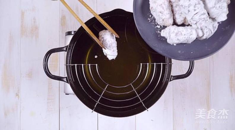 糖醋土豆里脊肉卷怎么做