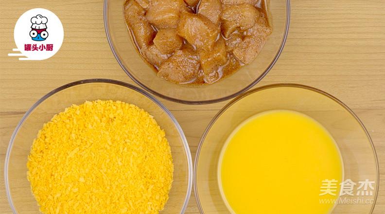 非油炸微波炉盐酥鸡的家常做法
