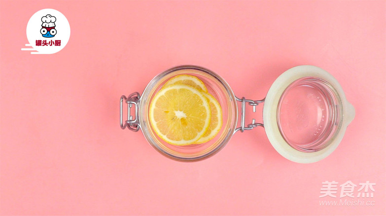 柠檬水的正确泡法的步骤
