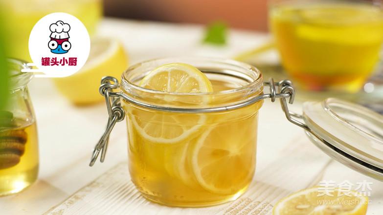 柠檬水的正确泡法成品图