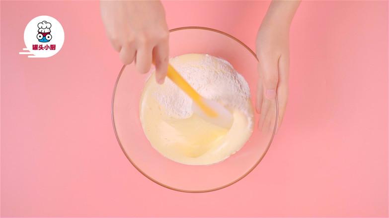 无油无水脆皮小蛋糕的简单做法