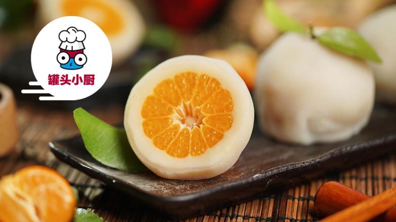 网红Q香橘子大福怎么做