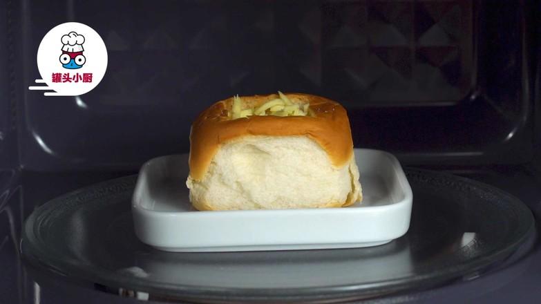 微波炉鸡蛋面包盅怎么吃