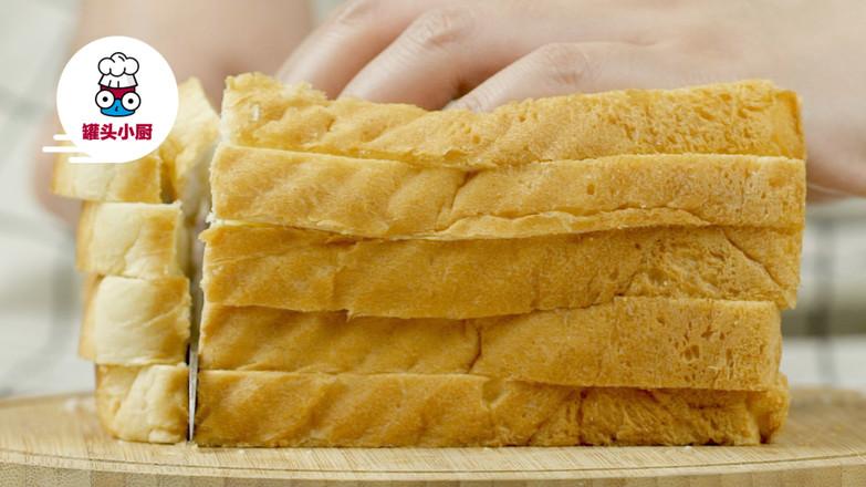 微波炉自制面包糠的做法大全