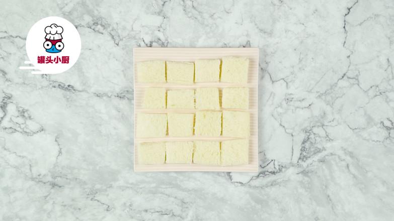 微波炉自制面包糠的做法图解