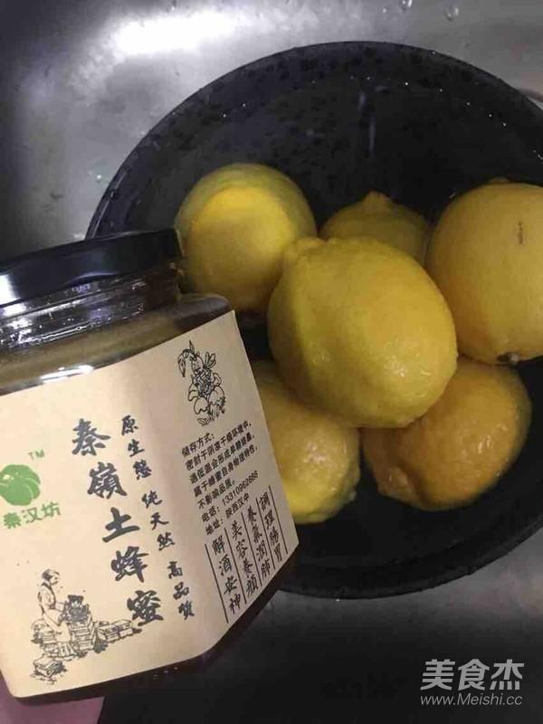 赵薇同款蜂蜜柠檬水的做法图解