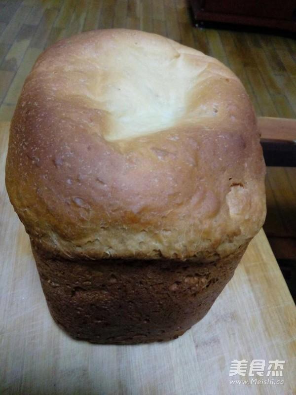 蜂蜜牛奶葡萄干面包怎么煮