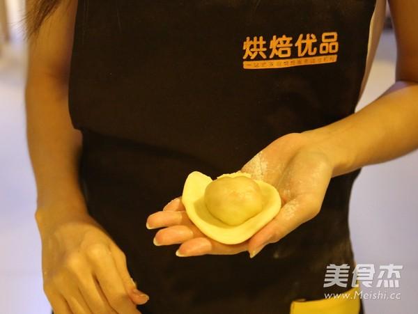 不一样的黄金月饼酥的制作