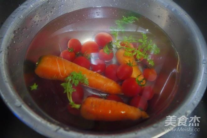 原汁机食谱番茄胡萝卜橘子汁的做法大全