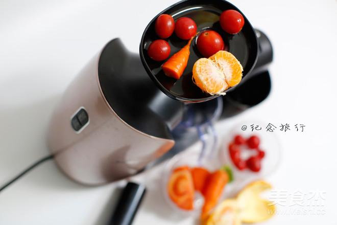 原汁机食谱番茄胡萝卜橘子汁的家常做法
