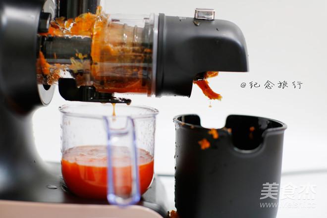 原汁机食谱番茄胡萝卜橘子汁怎么做