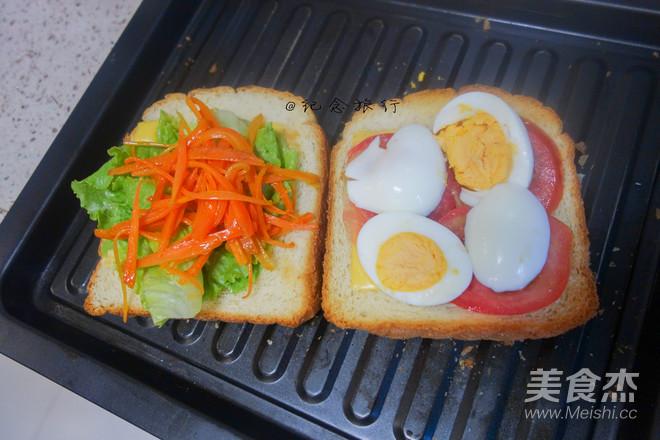 洋气的早餐 网红沼三明治怎么做
