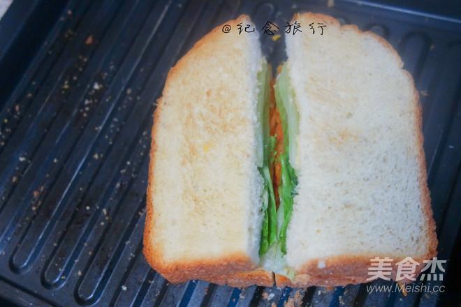 洋气的早餐 网红沼三明治怎么炒