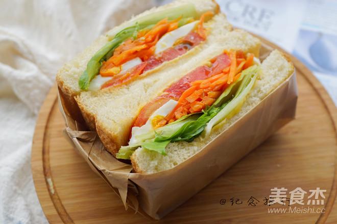 洋气的早餐 网红沼三明治怎么煮